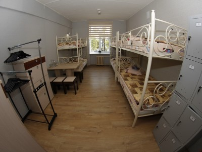 Six-bed room (hostel)